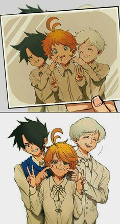 約定的夢幻島yakusoku No Neverland All Out Anime, I Love Anime, Kawaii Art, Kawaii Anime, Dark Fantasy, Manga Anime, Anime Art, Desenhos Love, Anime Lindo