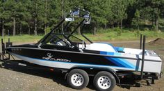 Wakeboard Tower on a 1993 Ski Centurion falcon