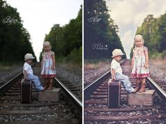 AMae Photography- before and after