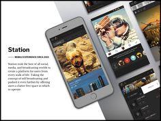 Mobile App - Station - Circa 2015