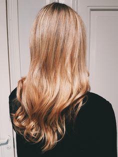 Light copper blonde www.healthyhair.fi