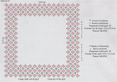 Patroon Annie 0501a Pergamano Multi grid 24