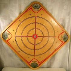 Wood Carrom Board Game...crokono...getting out to play very soon!