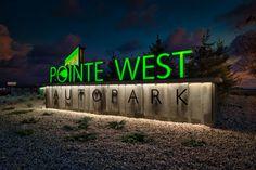 Entrance Signage, Exterior Signage, Entrance Gates, Vertical Signage, Monument Signs, Industrial Park, Lighting Logo, Landscape Architecture Design, Directional Signs