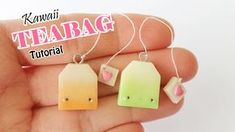 Hellooooo Everyone! Hope you are all having a good day! Today I have a Kawaii Polymer Clay Teabag Tutorial for you! In this video I show a brown and green te...