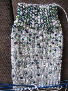 Ravelry: KarenF's Beaded Socks