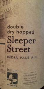 Double Dry Hopped Sleeper Street IPA