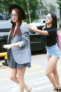 Sistar Soyou and Bora Sistar Soyou, Starship Entertainment, Your Girl, Girl Group, Kpop, Outfits, Blazers, Tall Clothing, Blazer