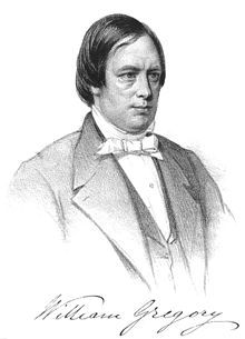 Regency Personalities Series-William Gregory 25 December 1803 - 24 April 1858 (Are you a RAPper or a RAPscallion? http://www.regencyassemblypress.com)