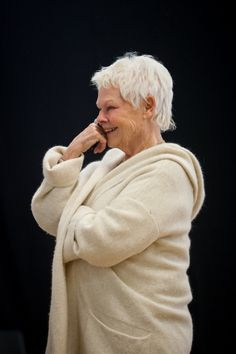 """Judi Dench & her """"X"""" rated hobby..."""