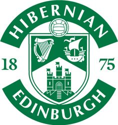 Hibernian FC Primary Logo on Chris Creamer's Sports Logos Page - SportsLogos. A virtual museum of sports logos, uniforms and historical items. Football Team Logos, Soccer Logo, World Football, Football Soccer, Sports Logos, Soccer Teams, Dundee Fc, Hibernian Fc, St Johnstone