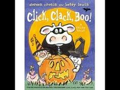ARWEN SHARP reads - Click, Clack, Boo - YouTube