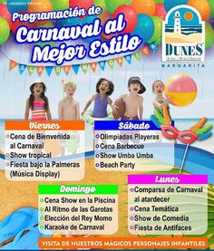 Carnaval para disfrutar en familia al mejor estilo #Dunes  Imperdible! Viaja con South Caribe #deunaformadiferente  Solicita informacion de nuestros planes...hay uno para ti!  Reservaciones@southcaribe.com #traveling #vacation #visiting #instago #instagood #trip #holiday #photooftheday #fun#travelling #tourist #instapassport #travelgram #instalife #travelblog #instago #ig_latinoamerica #curacao #caribe by (southcaribe) caribe #instagood #photooftheday #trip #curacao #travelling #tourist…