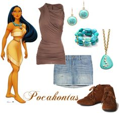 """Modern Pocahontas"" by wonderland449 on Polyvore"