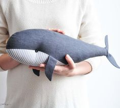 Whale Toy – Nautical Baby Shower Gift – Nautical Nursery – Soft Toys – Blue Whale Plush – Stuffed Toy – Ocean Nursery – Birthday Gift Stuffed Whale Toy Blue Gray Whale Whale Toy by SUNandCo Nautical Nursery Decor, Nautical Baby, Ocean Nursery, Pet Toys, Kids Toys, Baby Shower Gifts, Baby Gifts, Baby Bedroom Furniture, Whale Plush