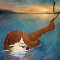 children's book by yonghee kim, via Behance