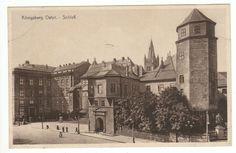 Königsberg ,Ostpreußen, Blick auf das Schloß