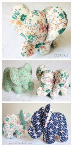 Animal Sewing Patterns, Sewing Patterns Free, Free Sewing, Fabric Patterns, Pattern Sewing, Dress Patterns, Sewing Stuffed Animals, Stuffed Toys Patterns, Sewing Toys