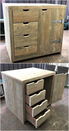 There are some homes with small areas which are empty and need a decorating idea, so this upcycled wood pallet entryway table is perfect for those areas as Wooden Pallet Projects, Wood Pallet Furniture, Diy Furniture Projects, Furniture Plans, Plywood Furniture, Cheap Furniture, Luxury Furniture, Small Wooden Projects, Furniture Websites