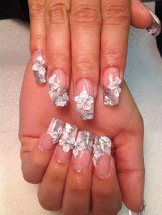 Wedding Nails by Nailsbyhanay from Nail Art Gallery