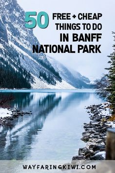 Are you planning a trip to Banff Canada? Luckily for anyone visiting, there are plenty of cheap or free things to do in Banff National Park. Don't forget to save this to your travel board so you can find it later! Alberta Canada, Banff Canada, Cheap Things To Do, Free Things To Do, Calgary, Vancouver, Visit Canada, Banff National Park, Jasper National Park