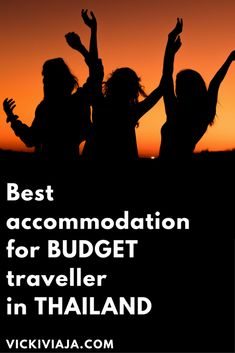 Best accommodation in Thailand for every Budget I From Budget to Luxury I From Dorm to Private Room I For single travelers and couples I @vickiviaja