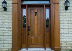front door with sidelights | Five reasons why custom-made doors are better | front doors | Pinterest | Front doors Doors and Barn doors & front door with sidelights | Five reasons why custom-made doors are ...