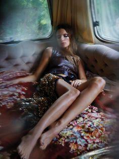Russh Magazine October/November 2015 Model: Cate Underwood, Sam Knight Photographer: Sam Hendel Fashion Editor: Bridie Gilbert
