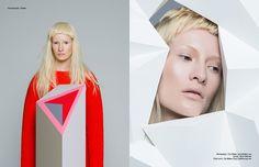 PhotographerIvan Bideactakes us on a sculptural exploration of geometricity in this Schön! online editorial