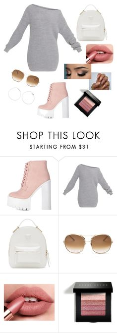 """""""OOTD"""" by natashae20 ❤ liked on Polyvore featuring Versace, Chloé and Bobbi Brown Cosmetics"""