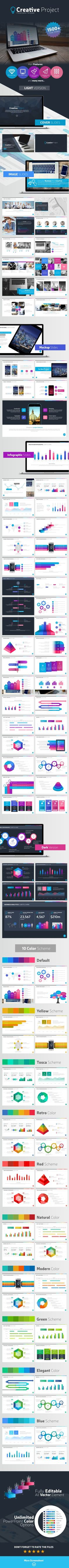 Creative Project Presentation Template #design Download: http://graphicriver.net/item/creative-project-presentation-template/12093598?ref=ksioks