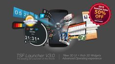 TSF Launcher 3D Shell v3.8.6 [Mod]   TSF Launcher 3D Shell v3.8.6 [Mod]Requirements:2.2Overview:TSF Shell is a brand-new 3D launcher that will subvert your concept of the mobile device home screen operations. It offers smooth unique and customized man-machine interactive operation experience. You are allowed to define all the elements of the home screen freely and efficiently. TSF Shell keeps creating new features and exclusive 3D widgets that will bring you amazing operation experience and…