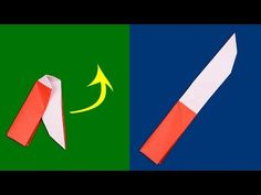 Easy Origami, Origami Paper, Diy Paper, Paper Crafts, Origami Knife, Cute Crafts, Diy Crafts, Naruto Uzumaki, Airplanes