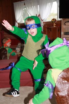 Ninja Turtles Costume via Craftsy