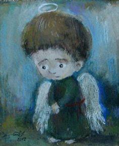 Nino Chakvetadze (b1971, Tbilisi, Georgia)   ნინოს ანგელოზები   Нино Чакветадзе