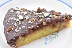 Mazarine cake with potatoes - easy recipe Danish Dessert, Outdoor Food, Banana Bread, Cravings, Easy Meals, Potatoes, Pie, Pudding, Sweets