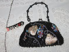 Beaded handbag by LINDENCREATIONS on Etsy