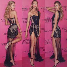 Stella Maxwell - Red Carpet, Victoria's Secret Fashion Show 2016