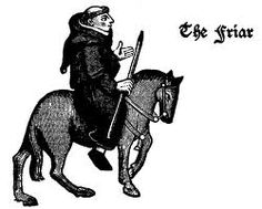 The Friar from the Canterbury Tales