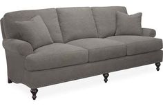 Lee Industries - Sofa Love shape and simplicity...also grey color