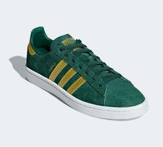 cheaper 30be6 39290 Campus In collegiate Green and matte gold... Zapatillas Adidas, Retro, Oro