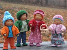 Agnes Nyerges doll house dolls (etsy)