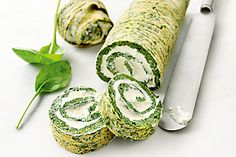 V-Zug recipe for Spinach Roulade with Sbrinz. Head over to 'Our V-Zug Products' board to see our exciting range! Baking Parchment, Spinach Leaves, Frozen Spinach, Recipe Search, 30 Minute Meals, Tray Bakes, Cooking Time, Sushi, Train