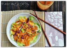 Asian ginger salad dressing