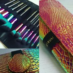 Spectrum Sirens Brush Collection http://www.spectrumcollections.com/collections/brush-sets/products/12-piece-siren-brush-set-roll
