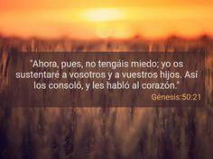 Génesis 50:21