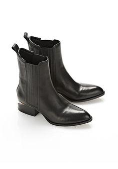 ANOUCK BOOT WITH ROSE GOLD - Women Boots - Alexander Wang Official Site