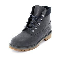Timberland 6 Inch Classic Boot Youth Dark Grey Nubuck 37.5 EU - http://uhr.haus/timberland/38-timberland-34792-6in-premium-wp-boot-rosa-weiss-3