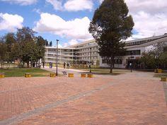 Universidad Nacional de Colombia by nikolaiky, via Flickr Sidewalk, Explore, Mansions, House Styles, Spaces, Universe, Cities, Places, Manor Houses
