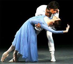 Svetlana Zakharova and Sergei Filin